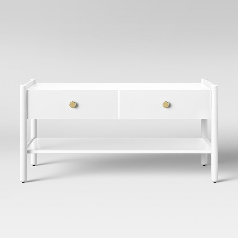 Wiley Coffee Table White - Project 62™ - image 1 of 3
