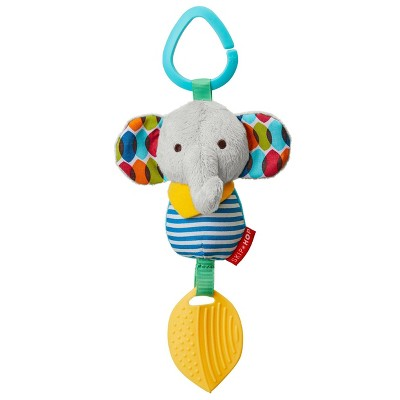 Skip Hop Bandana Buddies Chime & Teethe Toy - Elephant