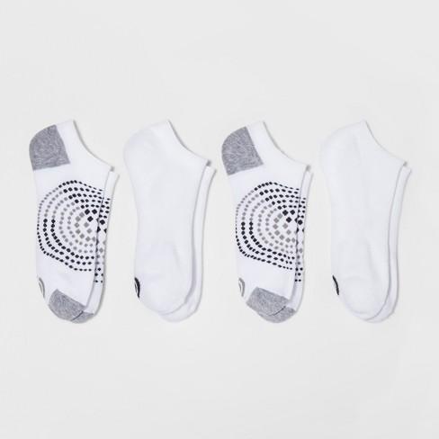 0de563a66 Women s Low-Cut Socks with Cushion 4pk - C9 Champion® White 5-9   Target