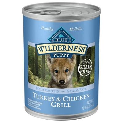 Dog Food: Blue Buffalo Wilderness Puppy Canned Food