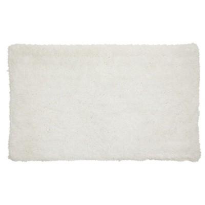 Juvale White Bath Mat, Non-Slip Bathroom Rugs for Showers (32 x 20 Inches)