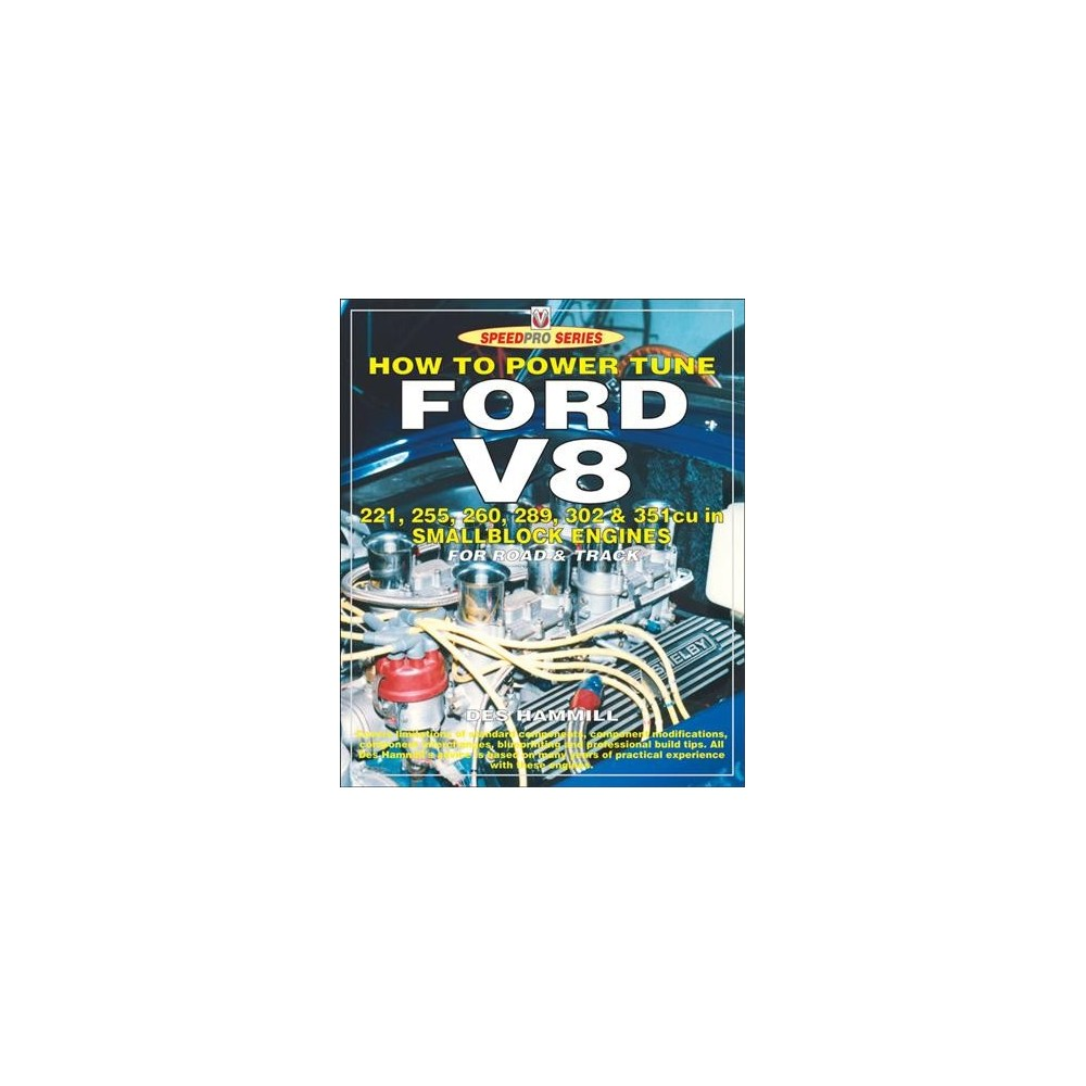 How to Power Tune Ford V8 - (Speedpro) by Des Hammill (Paperback)