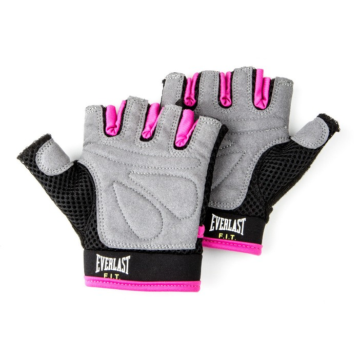 Everlast FIT™ EverCool Weightlifting Gloves - Pink - image 1 of 1