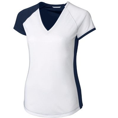 CBUK Ladies' S/S Presley V Neck Shirt