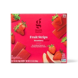 Strawberry Fruit Strips - 25ct/12.5oz - Good & Gather™