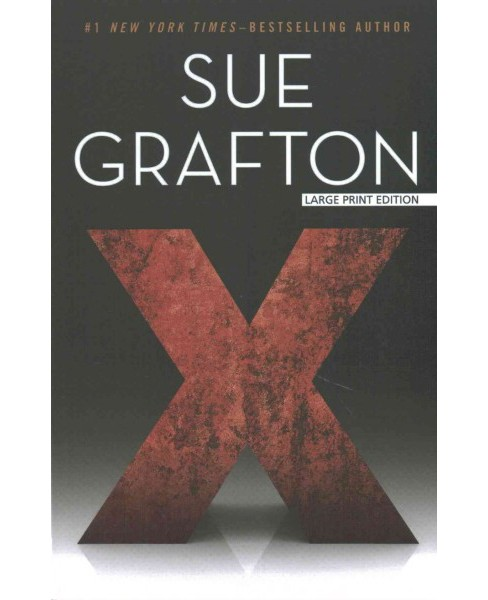 X (Paperback) (Sue Grafton) - image 1 of 1