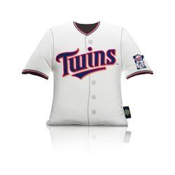 MLB Minnesota Twins Jersey Plush Pillow