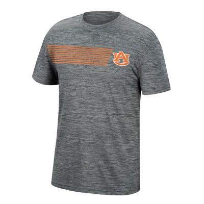 NCAA Auburn Tigers Men's Mesh Gray T-Shirt