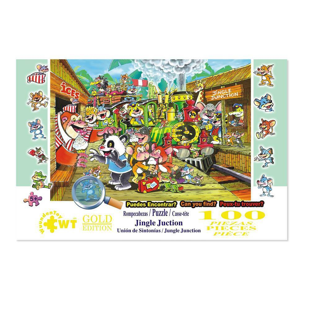 Wuundentoy Gold Edition Jingle Junction Kids 39 Jigsaw Puzzle 100pc