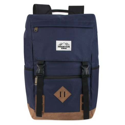 """Mountain Edge 19"""" Deluxe Drawstring Backpack - Blue - image 1 of 4"""