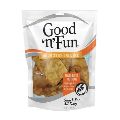 Good 'n' Fun Chicken Chips Rawhide Dog Treats - 4oz