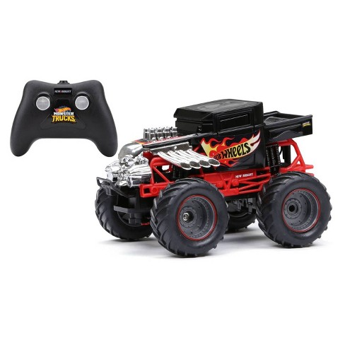 New Bright 1:24 R/C Hot Wheels Monster Truck Bone Shaker - image 1 of 4