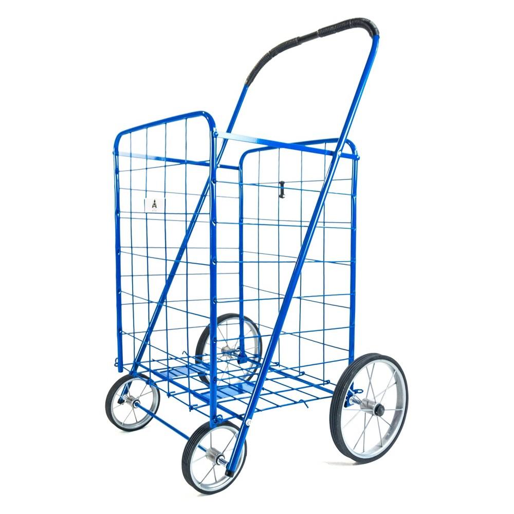 ATHome 43X21 X3.5  Shopping Cart Blue ATHome 43X21 X3.5  Shopping Cart Blue