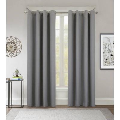 Kona Grommet Top Blackout Curtain Panel - Thermaplus