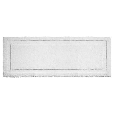 Spa Solid Bath Rug White - iDESIGN