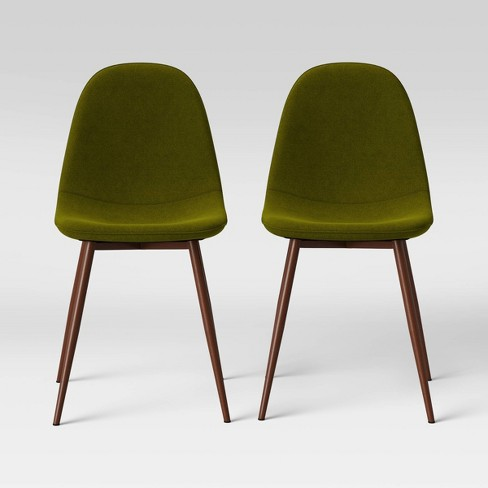 2pc Copley Upholstered Dining Chair Green Project 62 Target