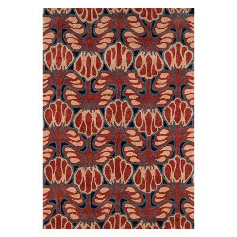 Rio Nortin Floral Tufted Accent Rug - Momeni - image 1 of 4
