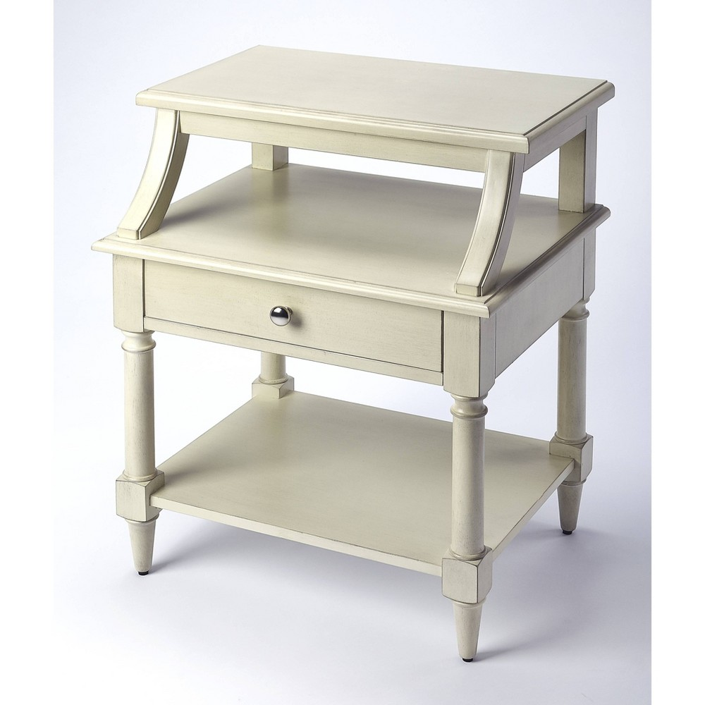 Talia End Table White - Butler Specialty