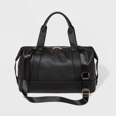Zip Closure Weekender Bag - Wild Fable™ Black