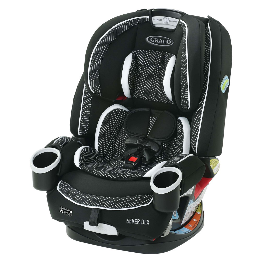 Image of Graco 4Ever DLX 4-in-1 Convertible Car Seat - Zagg