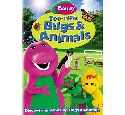 Barney:Tee Rific Bugs & Animals (DVD) - image 1 of 1