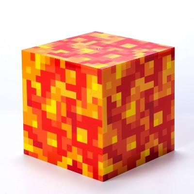 "6"" Minecraft Lava Block Cube LED Nightlight"