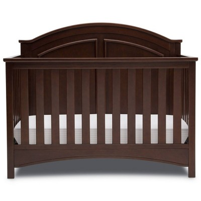 Delta Children Perry 6-in-1 Convertible Crib - Walnut Espresso