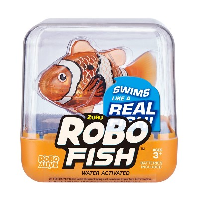 Robo Alive Robotic Fish - Orange