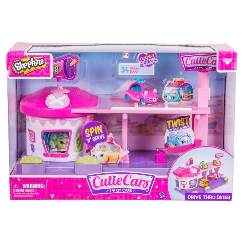 Cutie Cars™ Shopkins™ Drive Thru Diner Playset - image 1 of 5