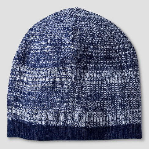 Boys' Reversible Beanie - Cat & Jack™ Navy One Size - image 1 of 1