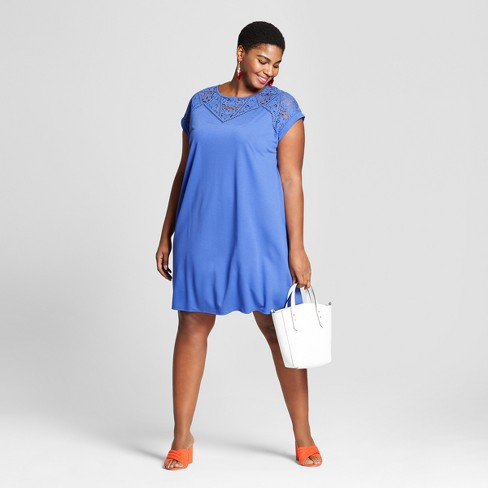 d2b3156a587 Women s Plus Size T-Shirt Dress - Ava   Viv™   Target