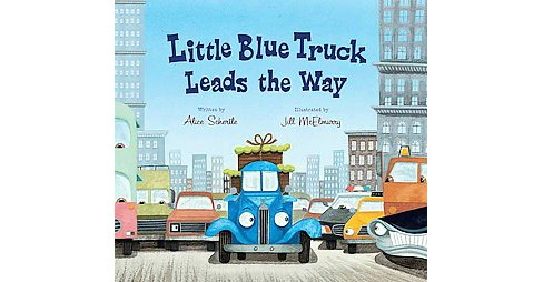 Little Blue Truck Leads the Way (Hardcover) (Alice Schertle) - image 1 of 1