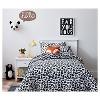 "14""X14"" Fox Square Throw Pillow Orange - Pillowfort™ - image 3 of 4"