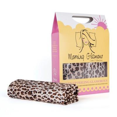 Satin Printed Pillowcase (Standard)Black & Gold 600 Thread Count - Morning Glamour