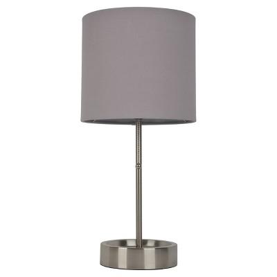 Stick Lamp Gray Includes Energy Efficient Light Bulb - Room Essentials™