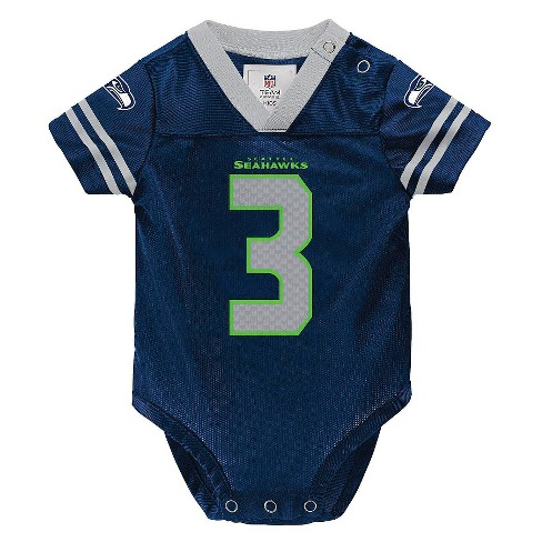 info for faad6 e7b4f NFL Seattle Seahawks Toddler/Infant Jersey Body Suit 3-6 M