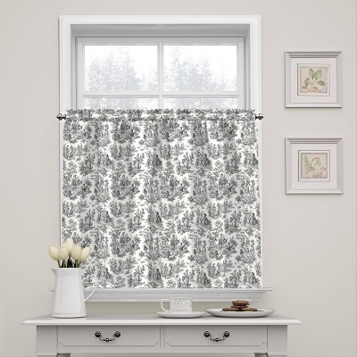 """Charmed Life Floral Window Tier Pair (36""""x52"""") - Waverly"""