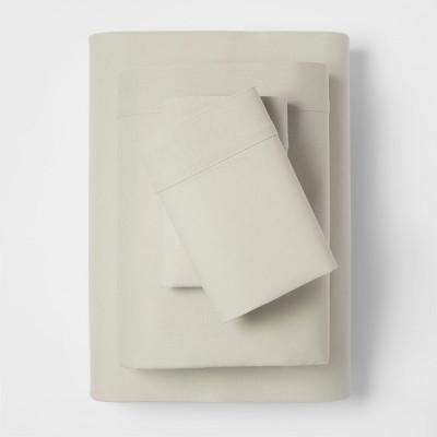 Linen Blend Sheet Set (King)Sage Green - Threshold™