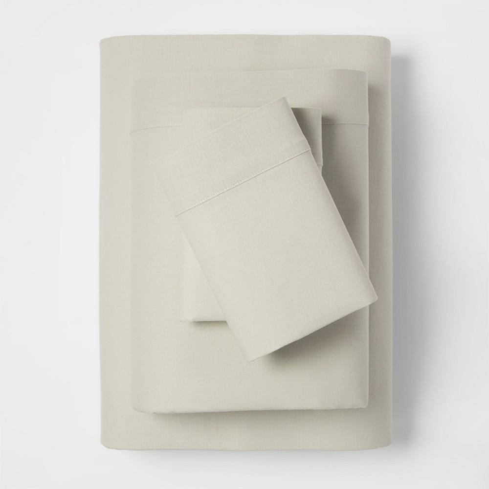 Full Linen Blend Sheet Set Sage Green - Threshold was $49.99 now $24.99 (50.0% off)