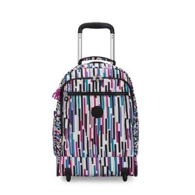 Kipling Gaze Large Printed Rolling Backpack