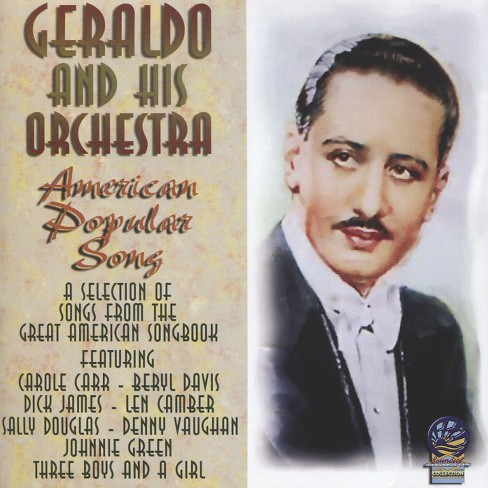Geraldo & his orches - American popular song (CD) - image 1 of 1
