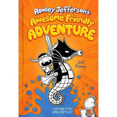 Rowley Jefferson's Awesome Friendly Adventure - Jeff Kinney (Hardcover) - image 1 of 1