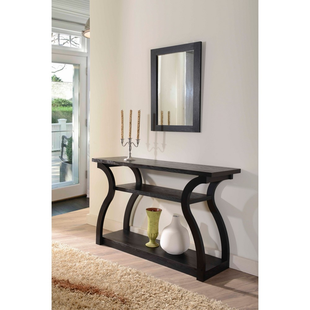 Persephone Console Table Black - Homes: Inside + Out