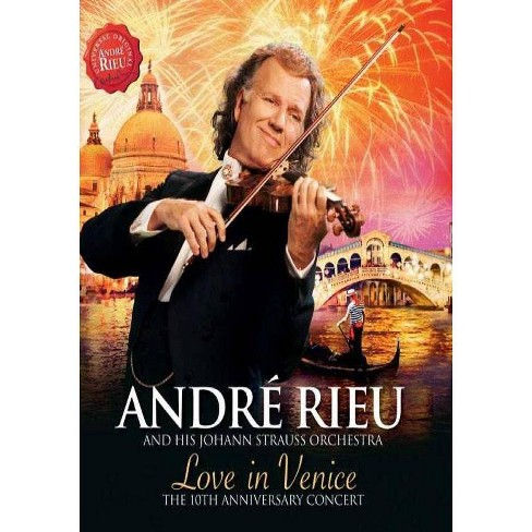 Andre Rieu: Love in Venice (DVD) - image 1 of 1