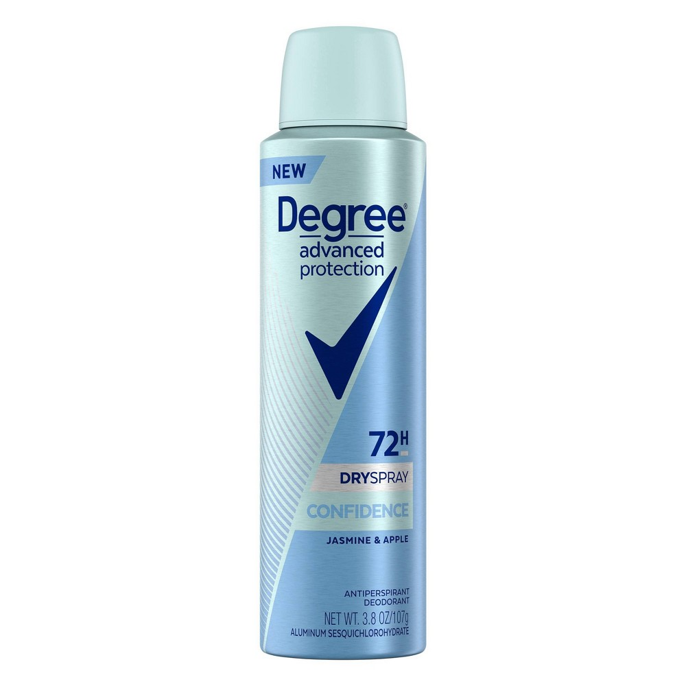 Image of Degree Confidence 72-Hour Antiperspirant & Deodorant Dry Spray - 3.8oz
