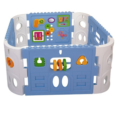 Pavlov'z Toyz Electronic Interactive Activity Baby Playpen - image 1 of 2