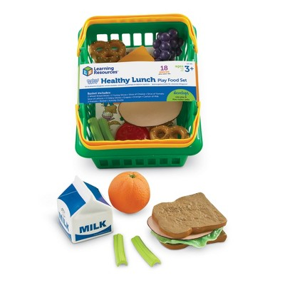 Learning Resources - Pretend and Play Healthy Lunch Set, Ages 3+