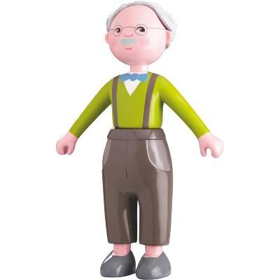 "HABA Little Friends Grandpa Kurt - 4.5"" Dollhouse Toy Figure"