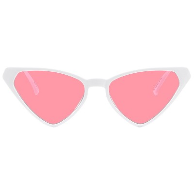 Women's Plastic Cateye Sunglasses - Wild Fable™ White