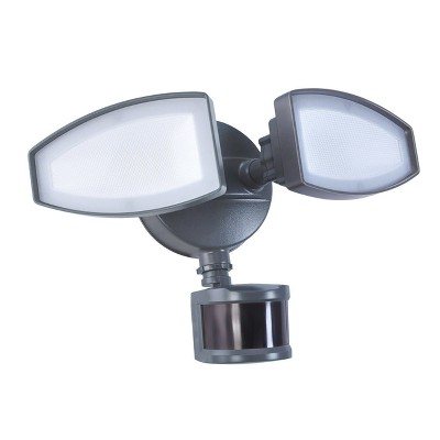 Ecolight 2 Light LED Motion Security Light - Bronze